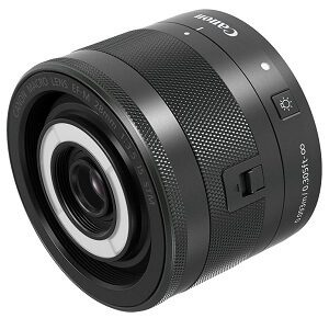 Canon EOS M100 which lens