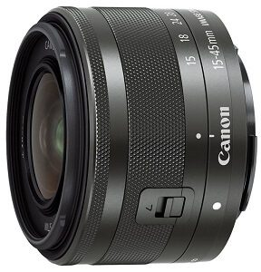 which lens for Canon EOS M100