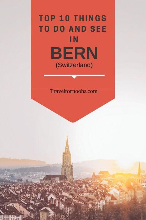 bern switzerland what to do