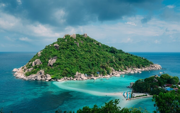 how to get to koh tao