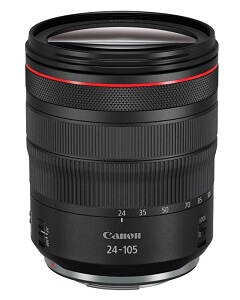Canon RP which lens