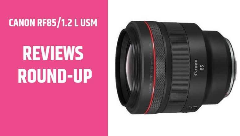 CANON RF85 1.2 L USM review
