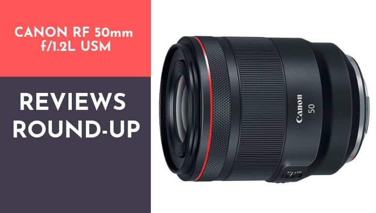 Canon RF 50mm f1.2L USM review