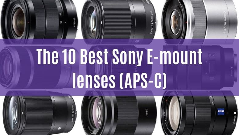 Best e-mount lenses for sony mirrorless aps-c