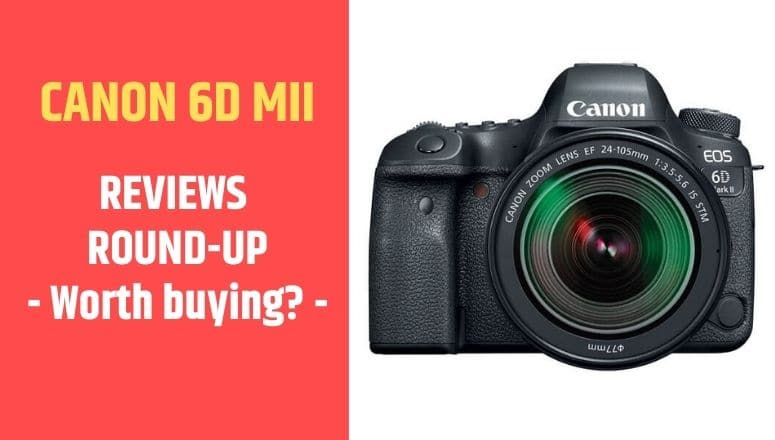 review canon 6D mark II
