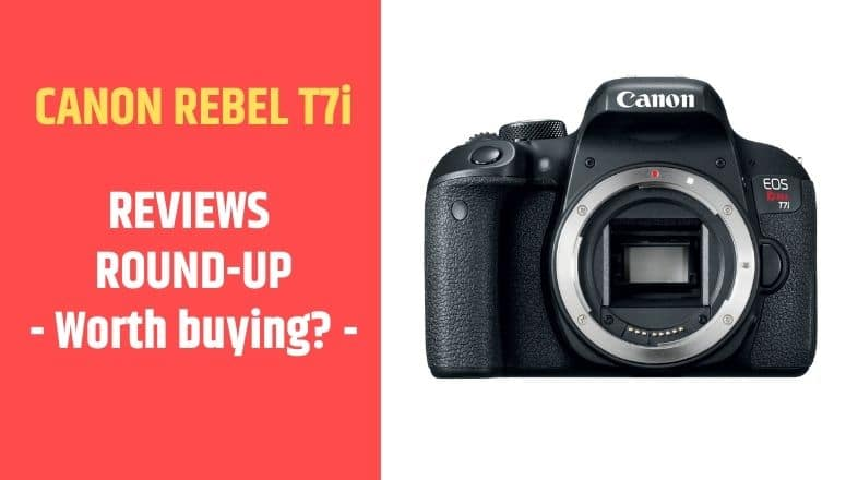 review canon rebel t7i