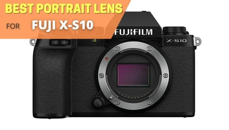 Best portrait lens for Fujifilm X-S10