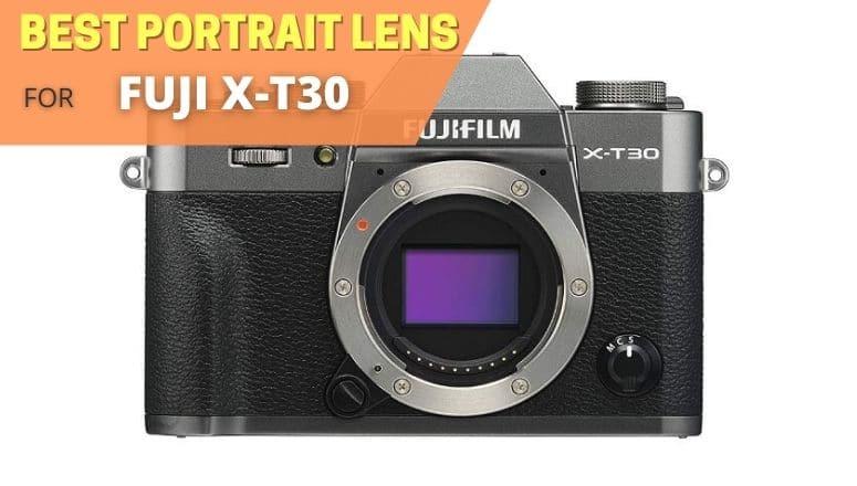 Best portrait lens for Fujifilm XT30