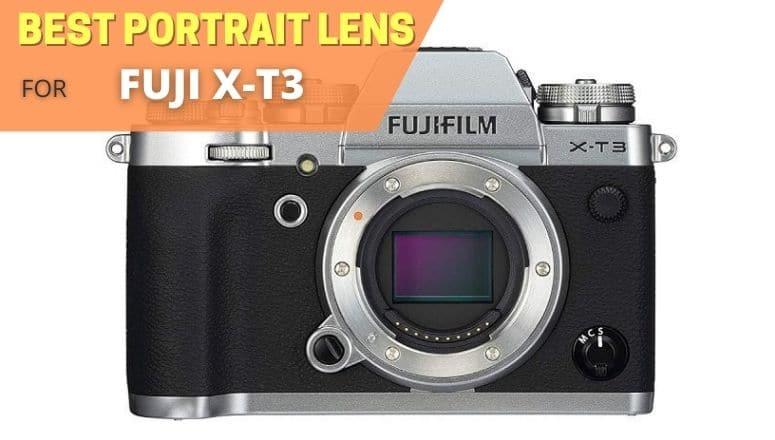 Best portrait lens for Fujifilm xt3