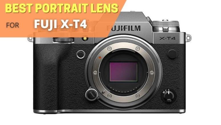Best portrait lens for Fujifilm xt4
