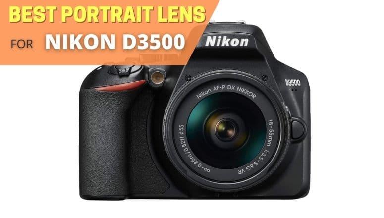 Best portrait lens for Nikon D3500
