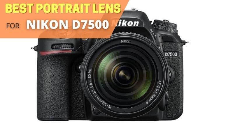 Best portrait lens for Nikon D7500
