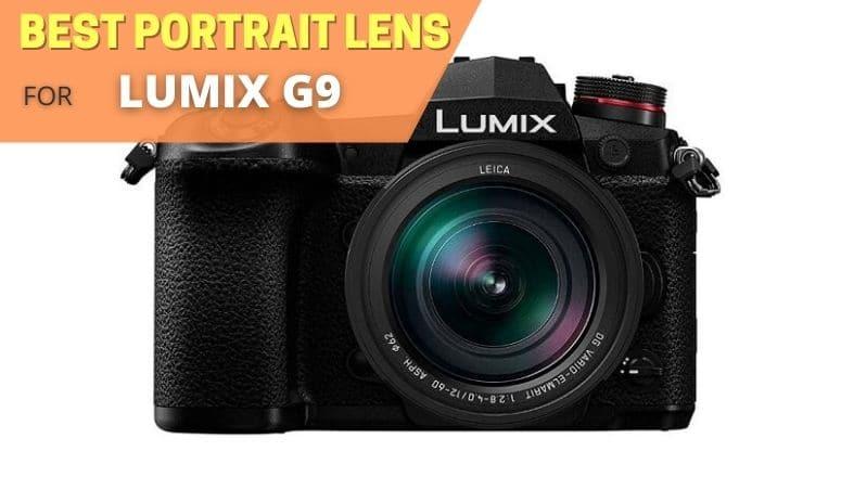 Best portrait lens for Panasonic Lumix G9