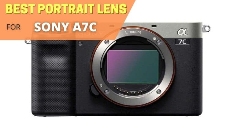 Best portrait lens for Sony A7C