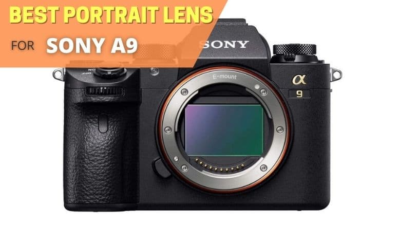 Best portrait lens for Sony a9