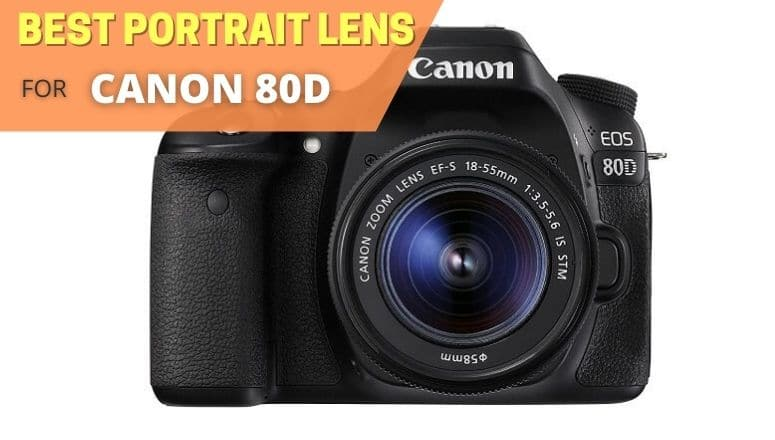 Best portrait lens for canon 80d