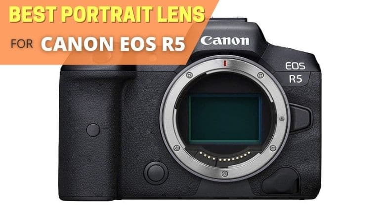 Best portrait lens for canon eos r5