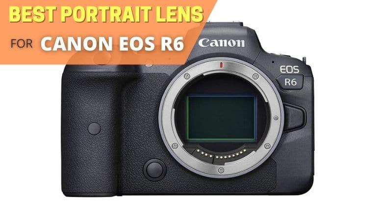 Best portrait lens for canon eos r6