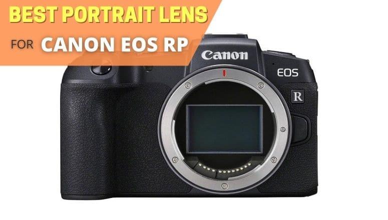 Best portrait lens for canon eos rp