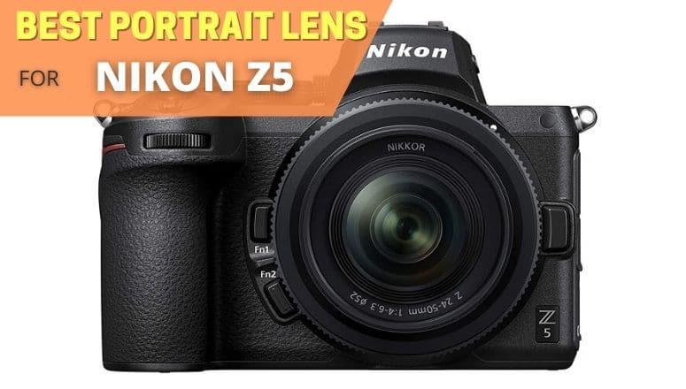 best portrait lens for nikon z5