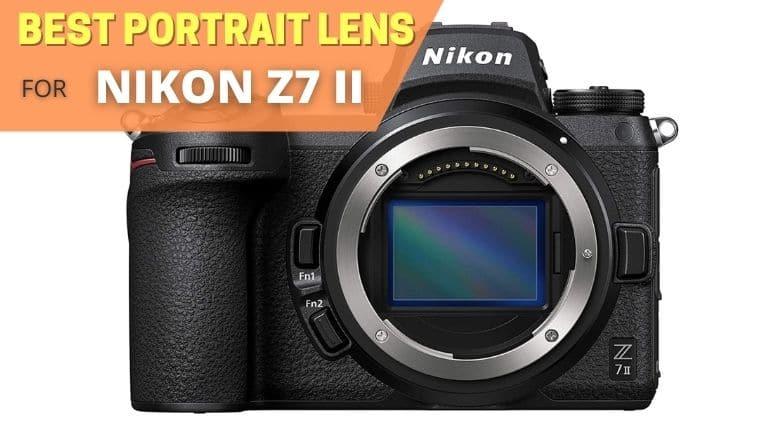 best portrait lens for nikon z7 ii