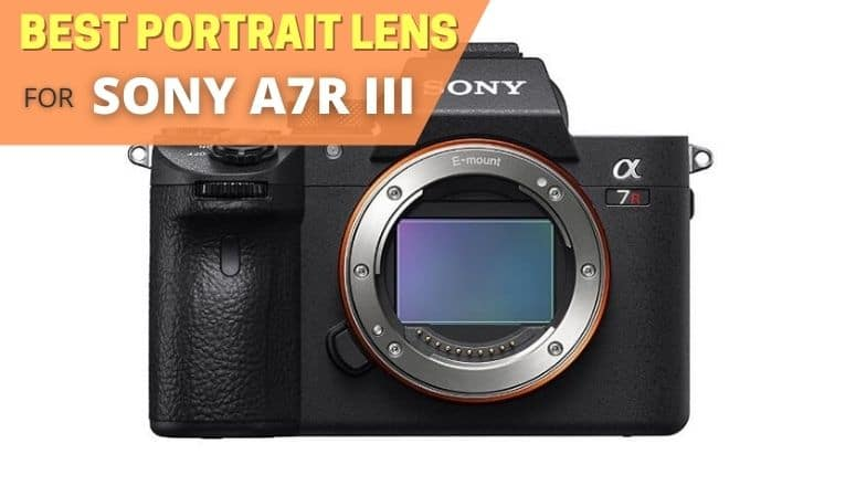 best portrait lens for sony a7r III