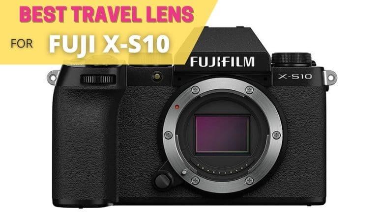 best travel lens for fuji x-s10