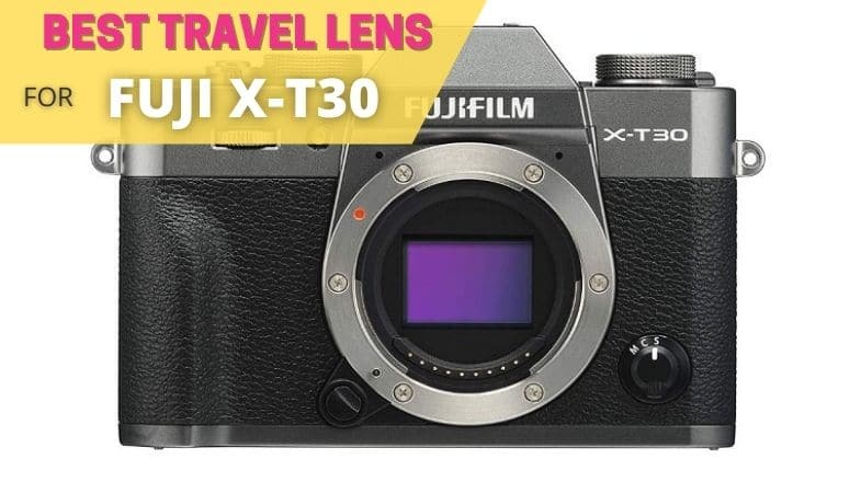 best travel lens for fuji xt30