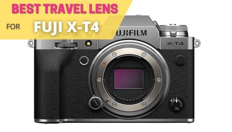 best travel lens for fuji xt4