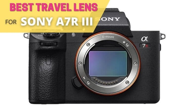 best travel lens for sony a7r III