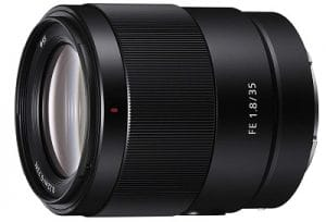 best video lens for sony fe