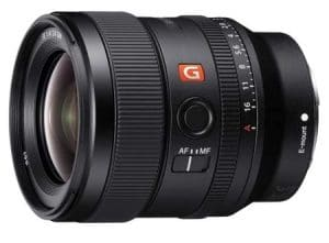best video lens sony fe