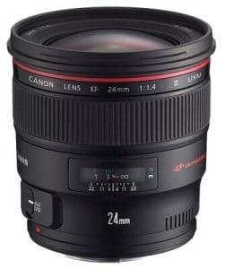 Best Video Lens Canon 5D Mark IV