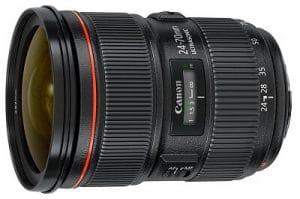 Best Video Lenses for Canon 5D Mark IV